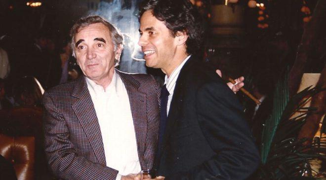 Charles Aznavour et Alexandre Rosemarin