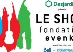 LE SHOW DE LA FONDATION EVENKO aura lieu le 12 mai 2018 au Théâtre Maisonneuve