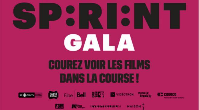 Gala Québec Cinéma: Le SPRINT Gala est de retour – Courez voir les films dans la course