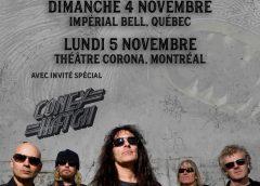 BRITISH LION à Québec et Montréal les 4 et 5 novembre