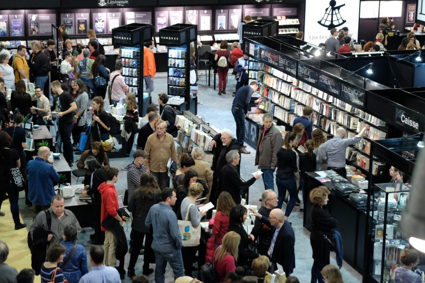 SALON DU LIVRE : GRAND CHANGEMENT EN VUE (video)
