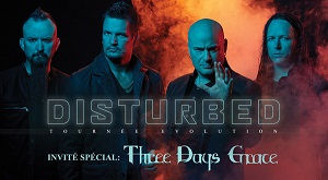 Disturbed - tournée Evolution @ Place Laval