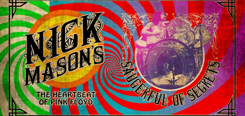 NICK MASON  Tournée Saucerful of Secrets @ Place des Arts