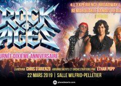 ROCK OF AGES | Rappel – Ce vendredi 22 mars à la Place des Arts