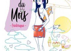 L'employée du mois, Frédérique par Sophie Rondeau, un roman divertissant qui donne le goût de l'été et de la baignade.