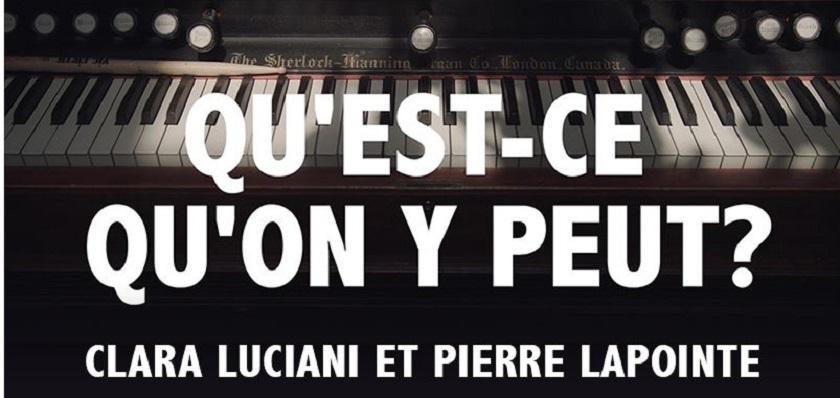 Magnifique CLARA LUCIANI & PIERRE LAPOINTE dans une nouvelle chanson (vidéo)